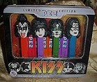 Limited Edition Kiss Pez dispensers  Mint in tin box