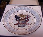 Avon Freedom Plate in original box  by Wedgewood