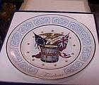 Avon Freedom Plate in original box  by Wedgewood