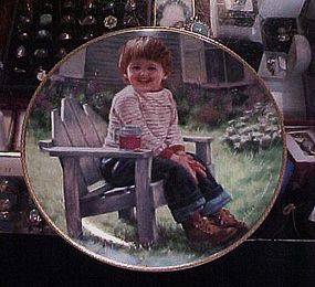A time to Laugh Abbie Williams March of Dimes Plate