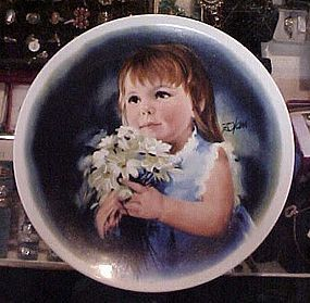 Donald Zolan children collector plate FOR YOU