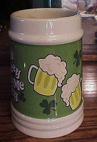 Large Irish tankard Irish Whiskey makes me Frisky