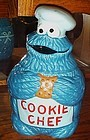 Rare Cookie Monster  Chef Cookie jar Demand Marketing