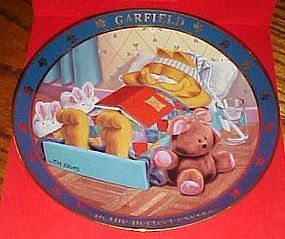 A Day with Garfield  plate Sleep the perfect exercise
