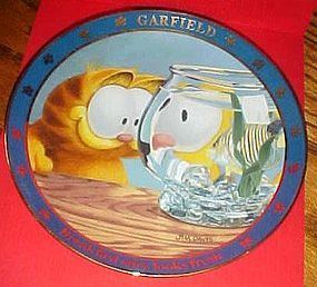 Garfield collector plate Breakfast sure looks fresh