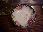 Antique Nippon hand painted art deco footed bowl 1911