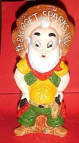 "Cameo Last Chance Joe Sparks Nevada ""Sparky"" decanter"