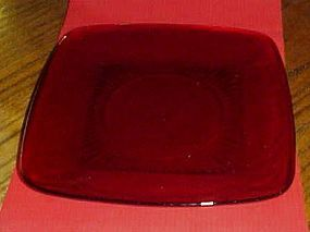 "Anchor Hocking Royal Ruby CHARM 8-3/8"" Luncheon Plate"