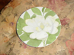 Fitz & Floyd Magnolia salad plate  1976