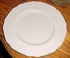 Indiana Harvest milk glass dinner plates