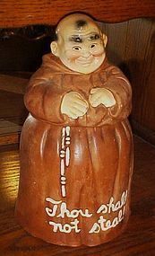 Twin Winton Monk Friar Tuck cookie jar WONDERFUL