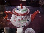 Vintage Japan Geisha Girl teapot unusual shape
