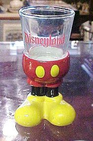 Disneyland Mickey Mouse feet shot glass or toothpick