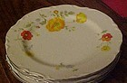 Wellin China Tivoli garden 5600 salad plate 7 3/4""