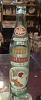 Dr Pepper Commemorative bottle Texas vs Oklahoma 1973