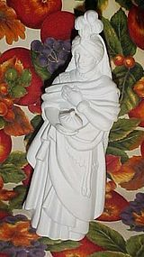 Avon Nativity white bisque King Kaspar figurine