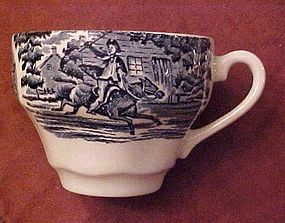 Staffordshire Liberty blue single cup