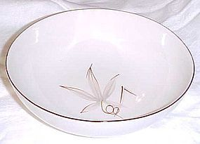 Winfield China Passion Flower 9 1/4 vegetable bowl Mid Century