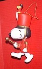 UFS  Peanuts Snoopy band leader Christmas ornament