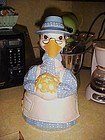 Adorable Mother Goose cookie jar