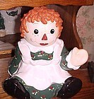 Sakura Raggedy Ann cookie jar ADORABLE
