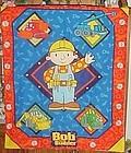 Finished fabric Bob the Builder wall hanging