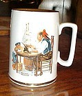 Norman Rockwell stein mug For a Good Boy