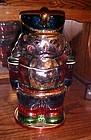 JC Penny Home Collection Nutcracker soldier cookie jar metallic finish