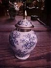 Schumann Bavaria Forget me not chintz ginger jar tea jar