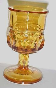 Tiffin Kings Crown amber gold cordials