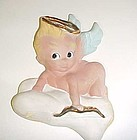 Unusual rare Freeman McFarlin Originals angel Cupid on a cloud