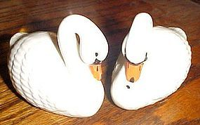 Josef Originals swan salt and pepper shakers