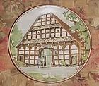 Konigszelt Bayern half timnered houses series 4th plate Westphalian