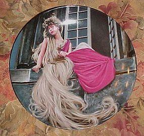 Konigszelt Bayern Grimms fairy Tales series 2nd plate Rapunzel
