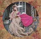 Konigszelt Grimms fairy Tales series 2nd plate Rapunzel