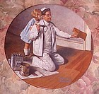 Norman Rockwell Heritage Collection plate The Painter MIB