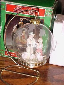 House of Lloyd Shepherd ornament with stand in original box