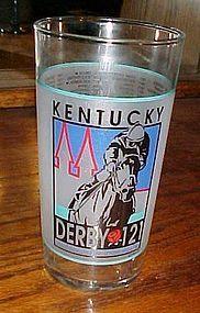 1995  121st Kentucky Derby mint julep glass