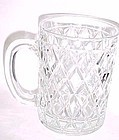 Paul Sebastion Inc Diamond quilted glass mug