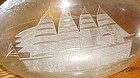 Toscany Clipper ship Captains decanter