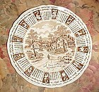 Alfred Meakin 1974 God Bless Our house calendar plate with Zodiac