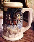 2005 Budweiser Holiday beer stein