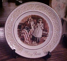 Avon Betsy Ross collector plate by Wedgewood
