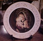 Adoration collectible plate by Boehm artist Juan Ferrandiz Castells
