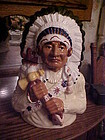 Beautiful Native American Indian Chief cookie jar