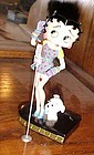 Betty Boop figurine Betty Sings the Blues Danbury Mint