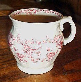 Furnivals LTD England CLYTIE red/pink floral mug
