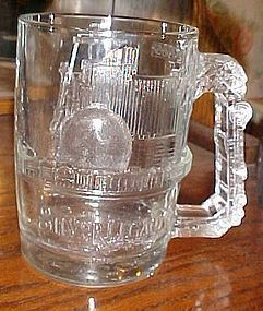 Silver Legacy Resort and Casino Reno huge glass mug