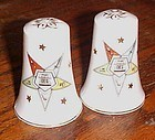 Lefton 3788 Order of the Eastern Star salt and pepper shakers