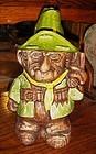 Vintage Treasure Craft cowboy gunslinger cookie jar